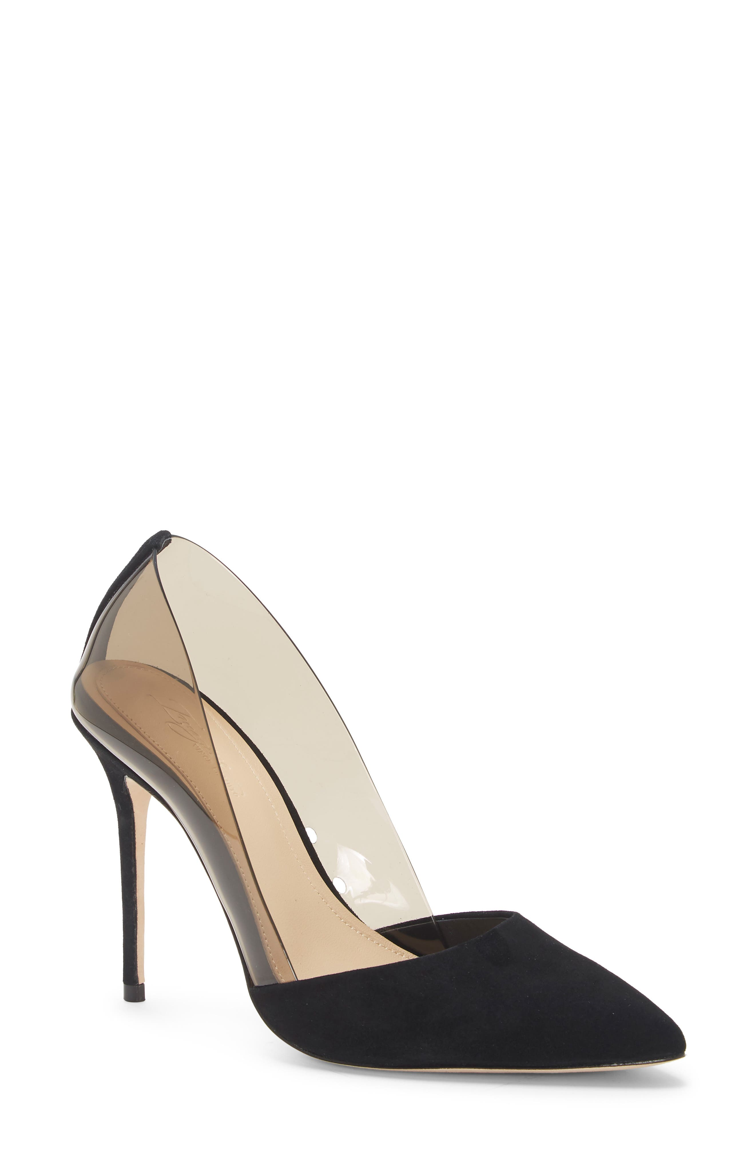 Imagine by Vince Camuto Ossie Clear Pump (Women)