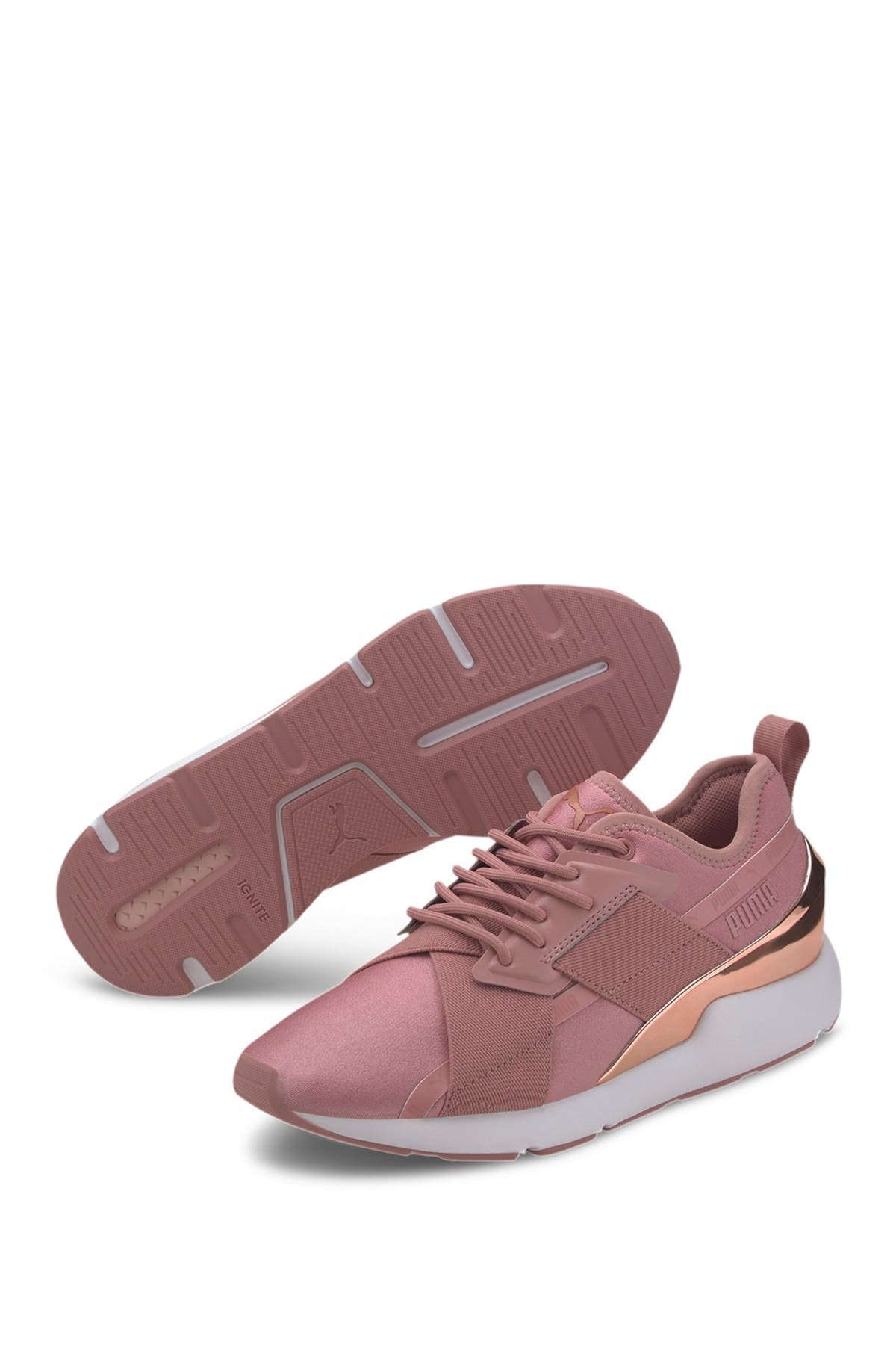 Image of PUMA Muse X-2 Metallic Sneaker