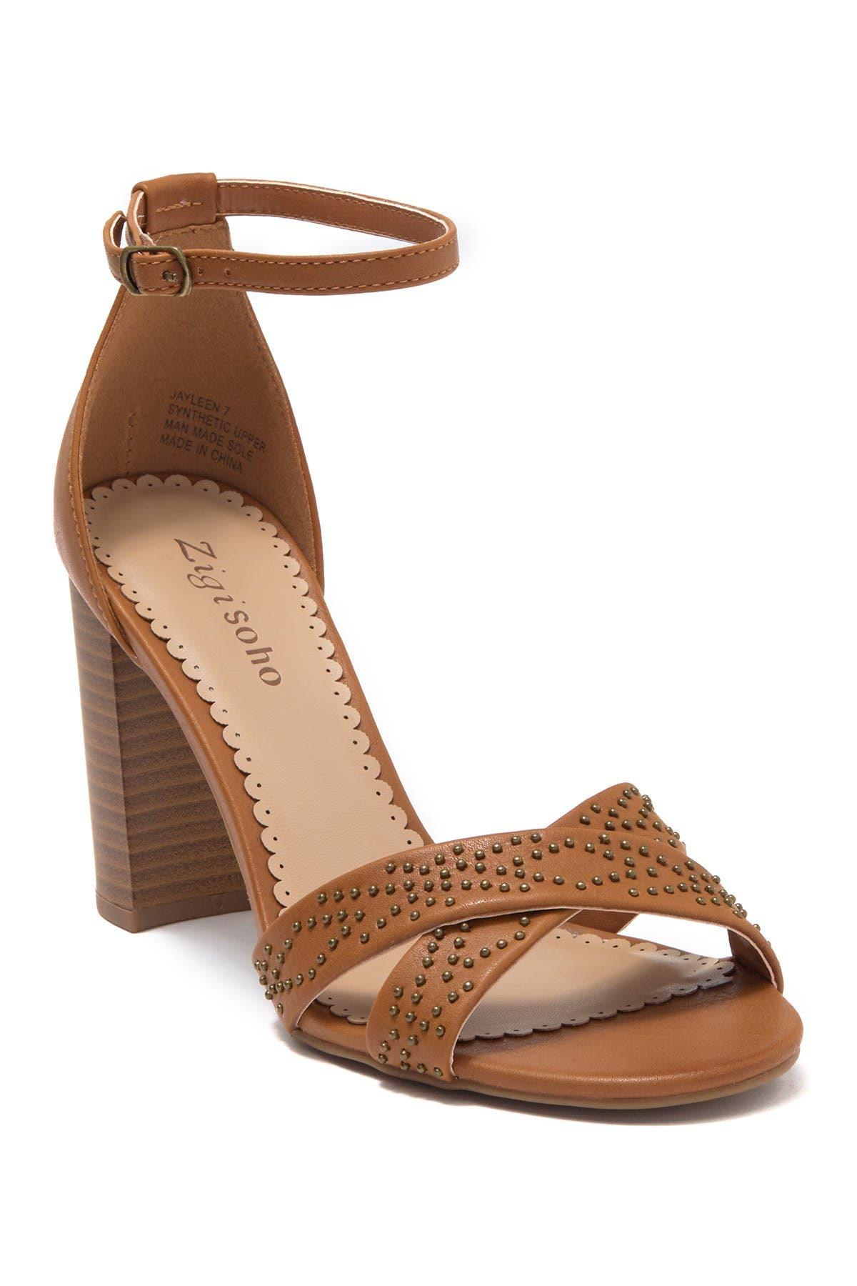 Zigi Soho Jayleen Studded Heeled Sandal at Nordstrom Rack