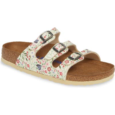 Birkenstock Florida Meadow Flowers Birko-Flor(TM) Slide Sandal