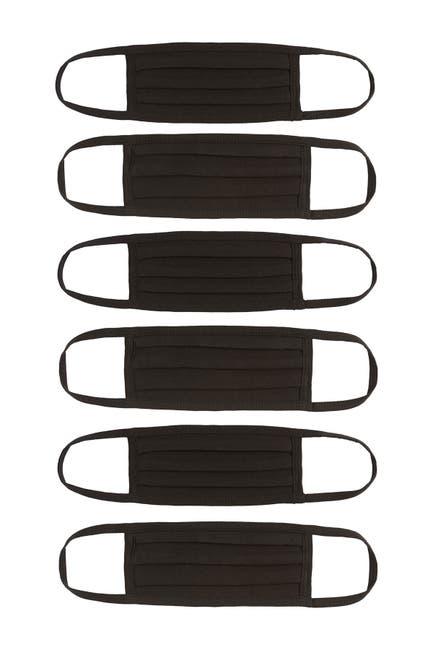 Image of Nordstrom Washable Adult Face Masks (Unisex) - Set of 6
