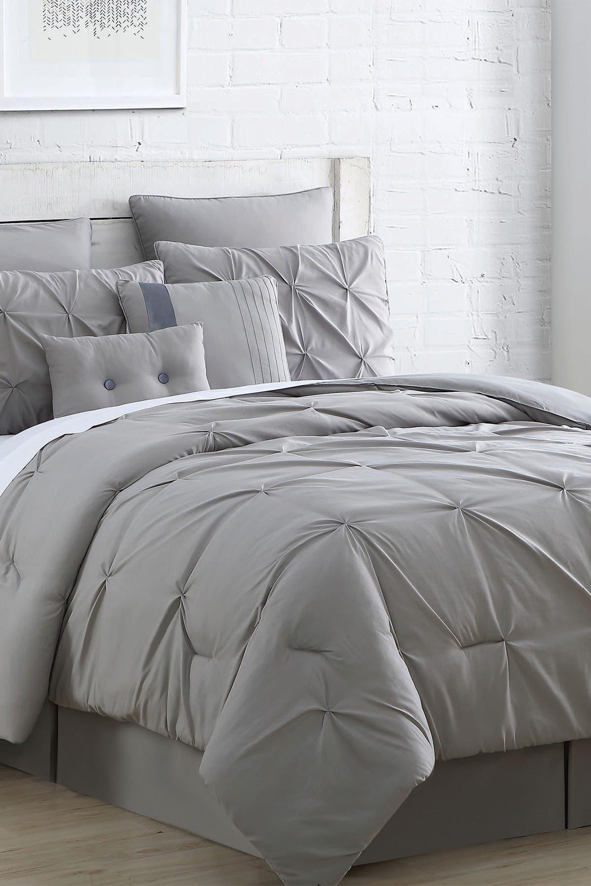Modern Threads Hot Deal King Ella Embellished Comforter Set Grey Nordstrom Rack