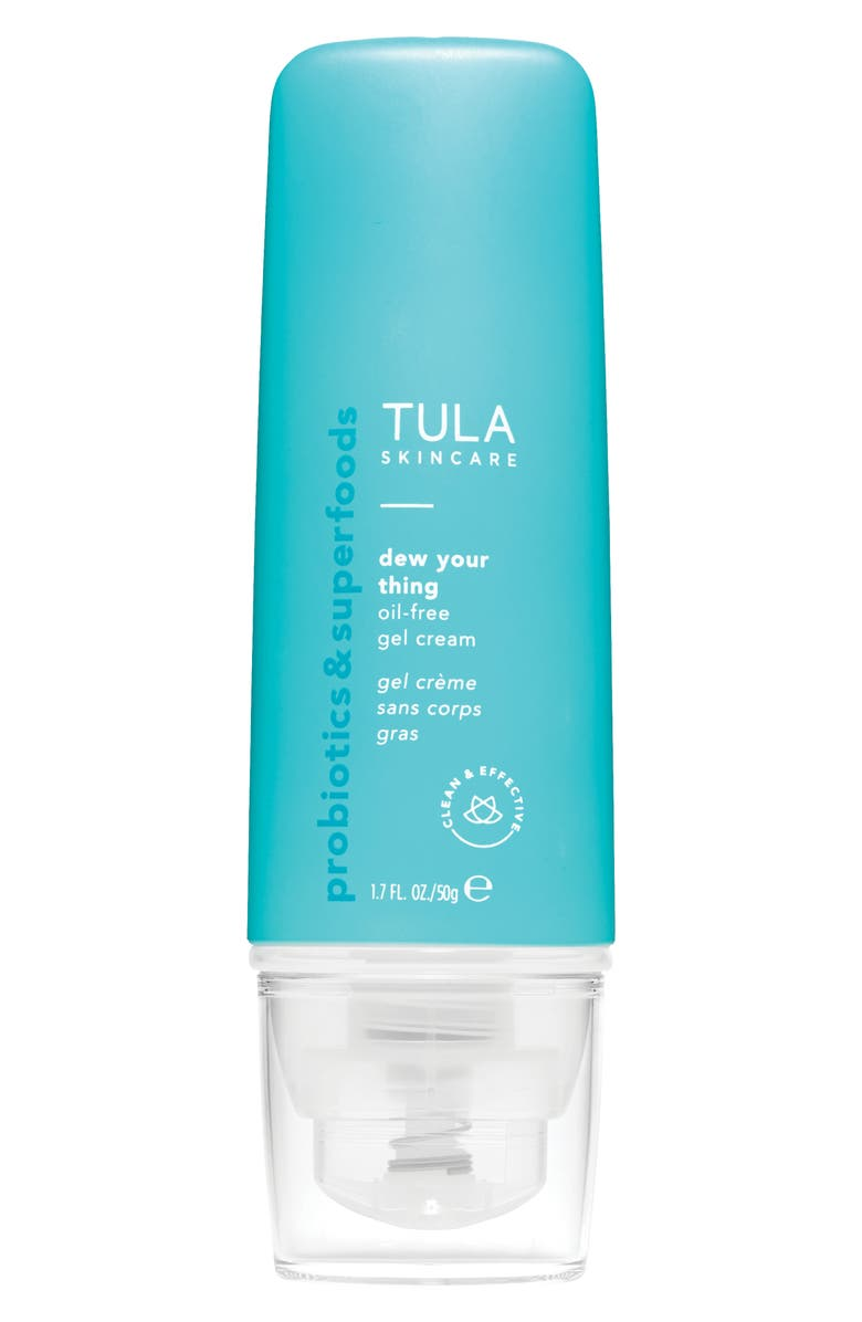 TULA SKINCARE Dew Your Thing Oil-Free Gel Cream, Main, color, 000