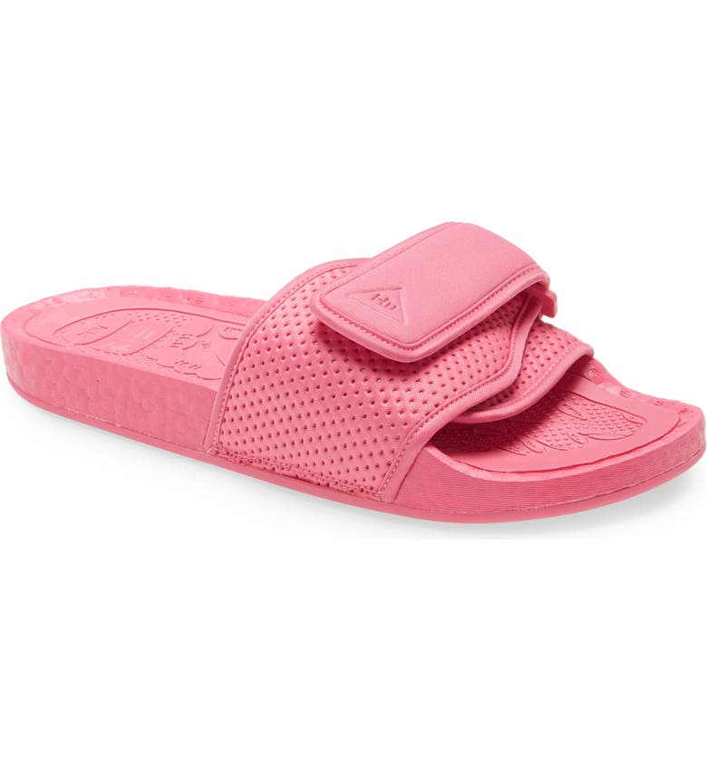 ADIDAS Y-3 adidas x Pharrell Williams Boost Sport Slide Sandal, Main, color, SEMI SOLAR PINK