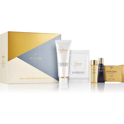 Cle De Peau Beaute Purify & Restore Cleansing Set