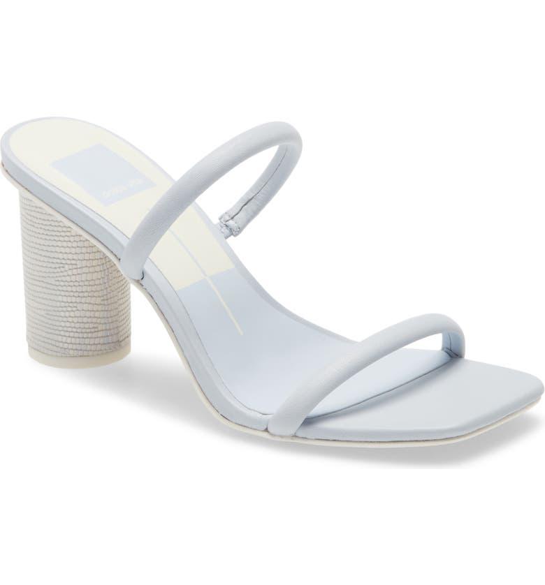 DOLCE VITA Noles City Slide Sandal, Main, color, LIGHT BLUE
