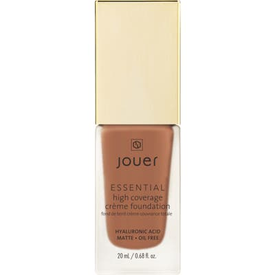 Jouer Essential High Coverage Creme Foundation - Carob