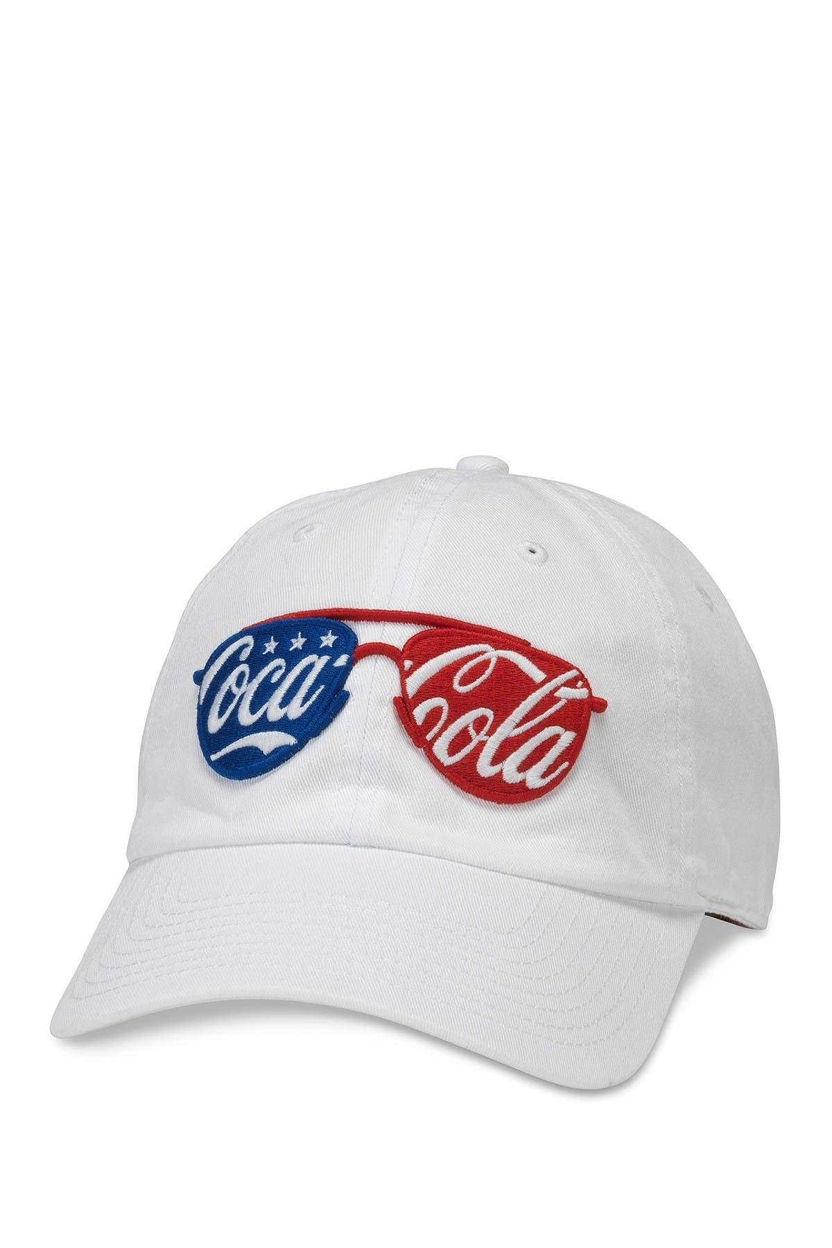 Image of American Needle Coke USA Sunglasses Baseball Hat