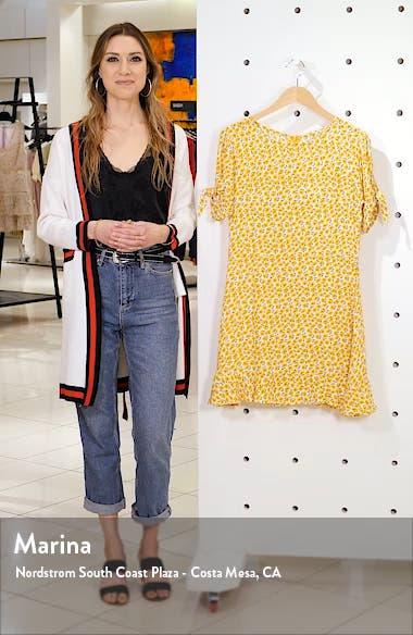 Daphne Tie Sleeve Minidress, sales video thumbnail