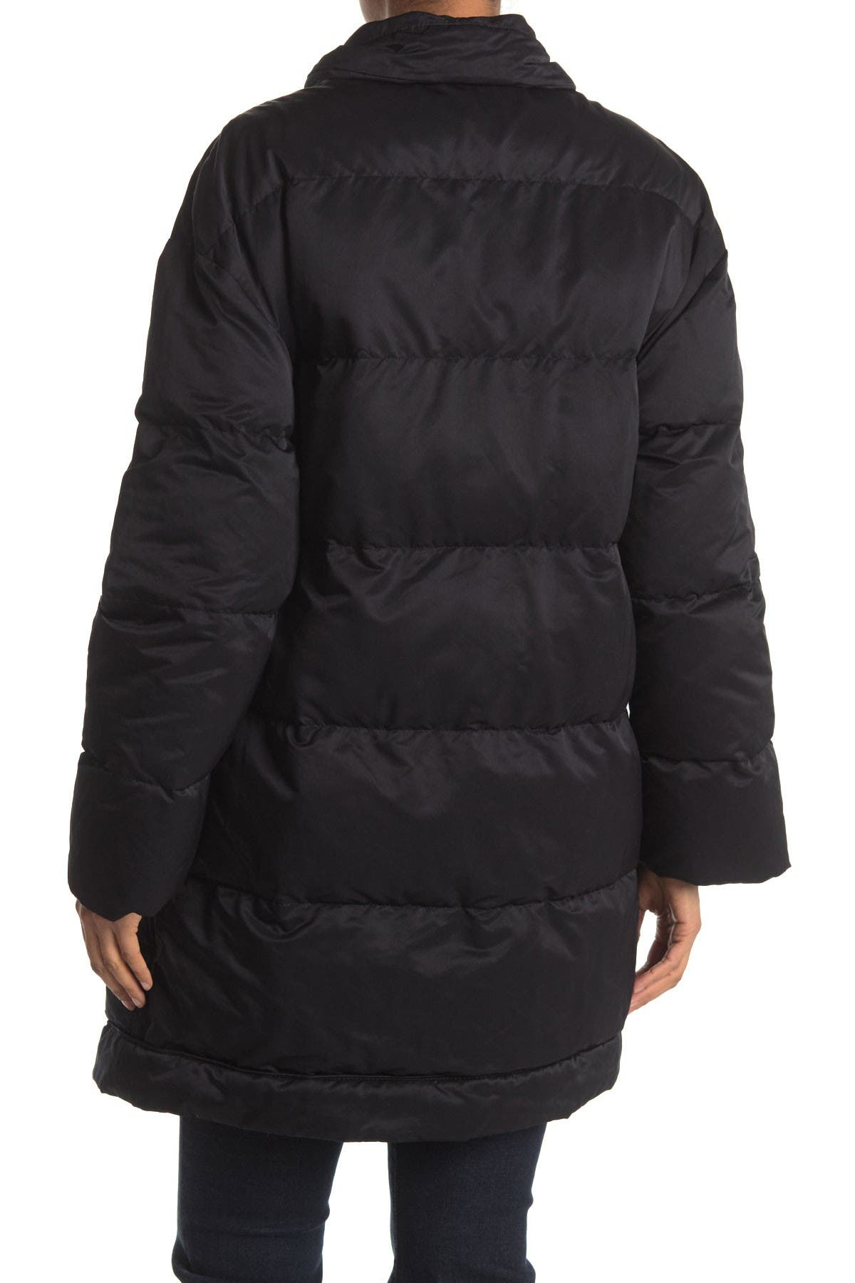 Image of ALLSAINTS Darling Buckle Strap Puffer Jacket