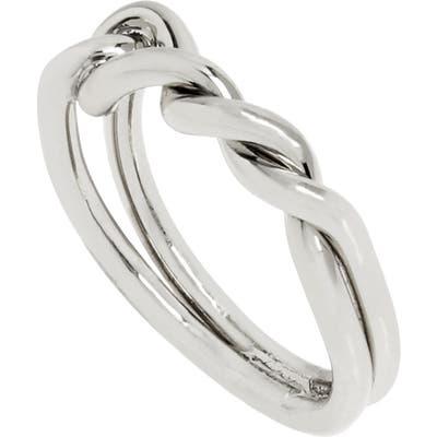 Allsaints Knot Twist Ring