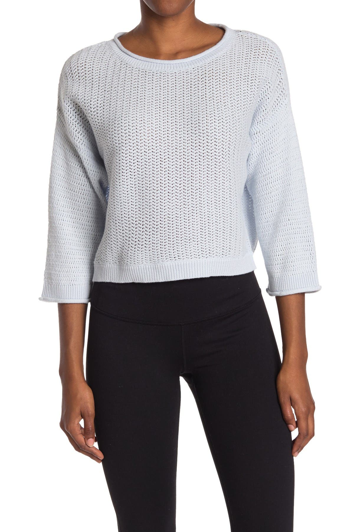 Image of New Balance Cropped Sweater