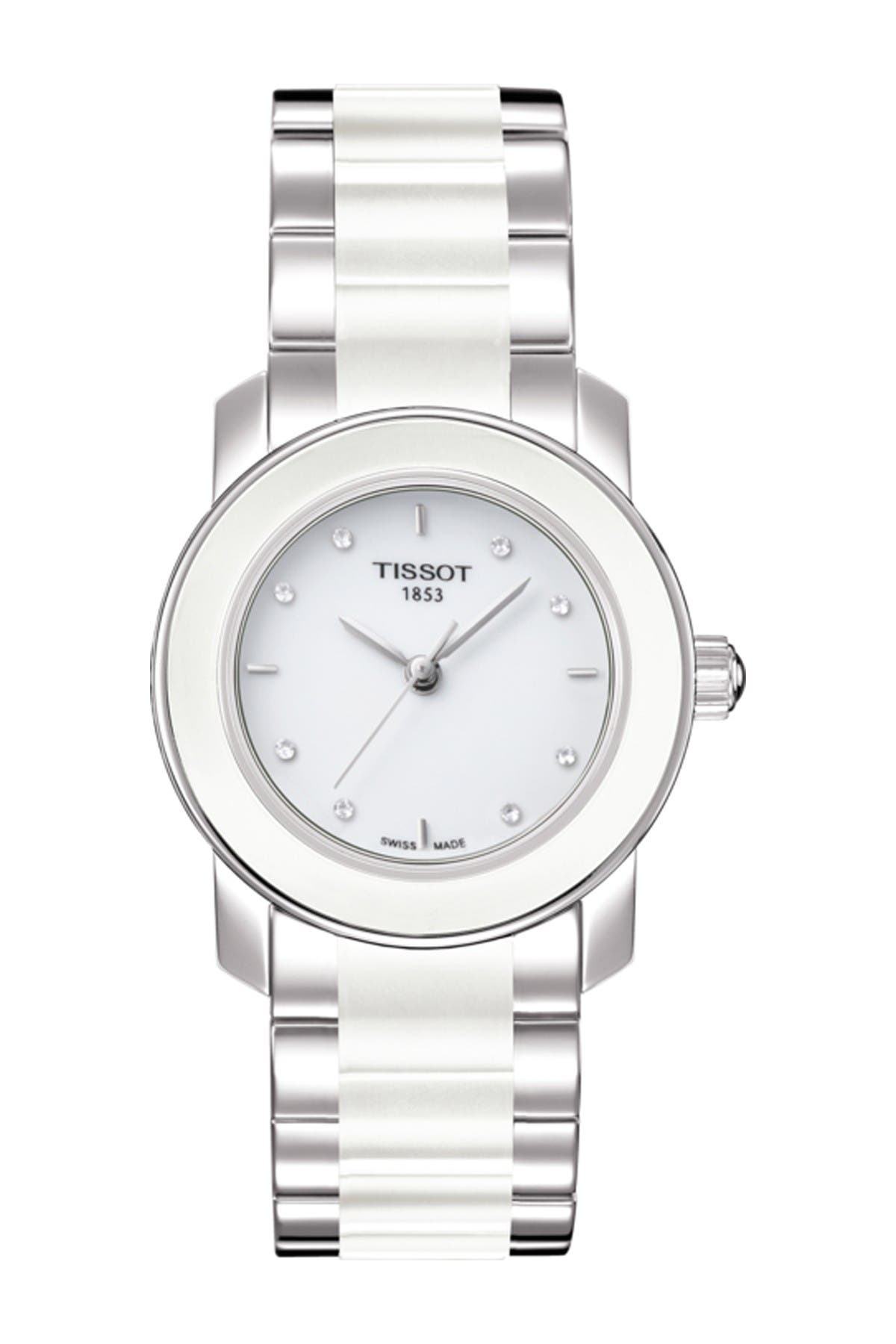 Image of Tissot Women's Cera Diamond Bracelet Watch, 28mm - 0.034 ctw