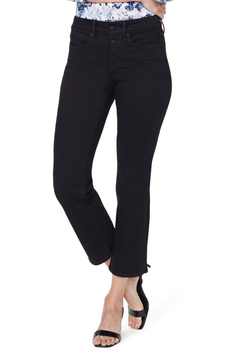 NYDJ Marilyn Ankle Straight Leg Jeans, Main, color, 001
