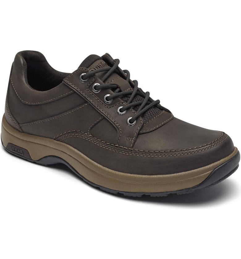 DUNHAM Midland Waterproof Sneaker, Main, color, BROWN LEATHER