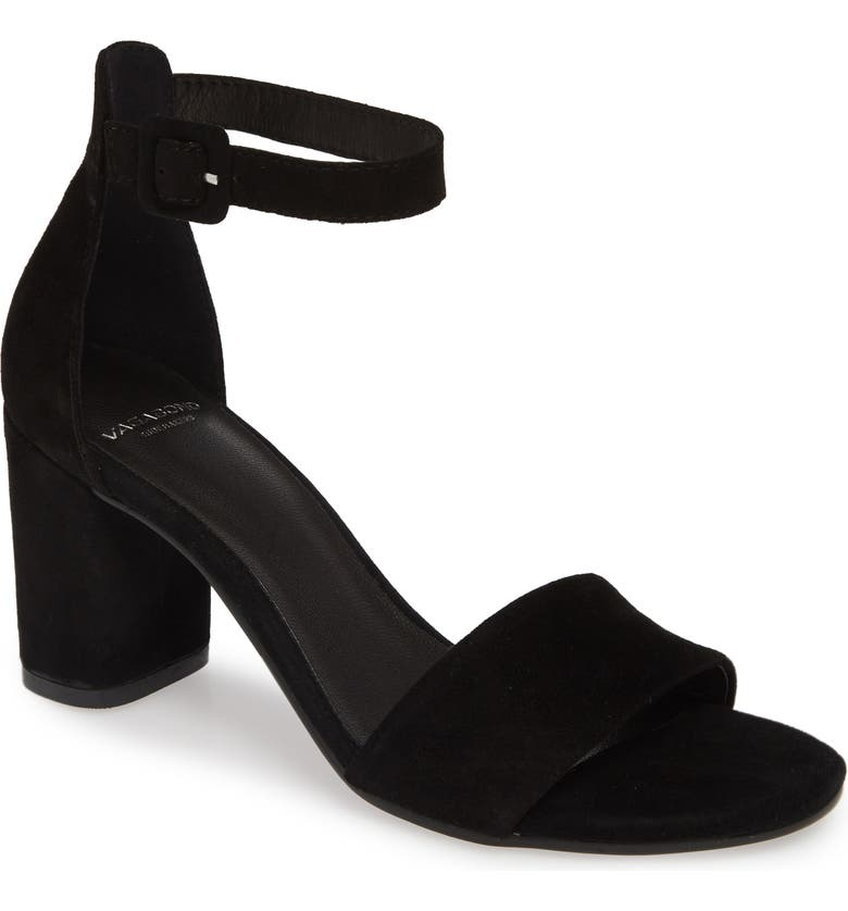 VAGABOND SHOEMAKERS Penny Ankle Strap Sandal, Main, color, 001