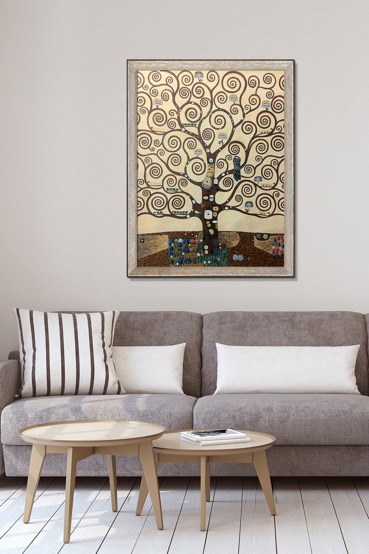 Image of Overstock Art Tree of Life - Framed Oil Reproduction of an Original Painting by Gustav Klimt