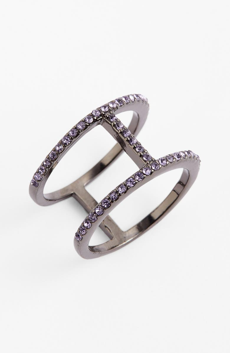 BAUBLEBAR 'T' Pavé Ring, Main, color, 040