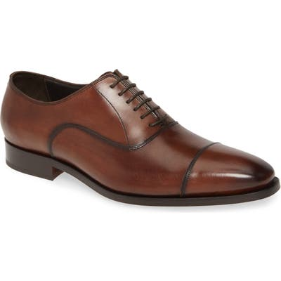 To Boot New York Knoll Cap Toe Oxford, Brown