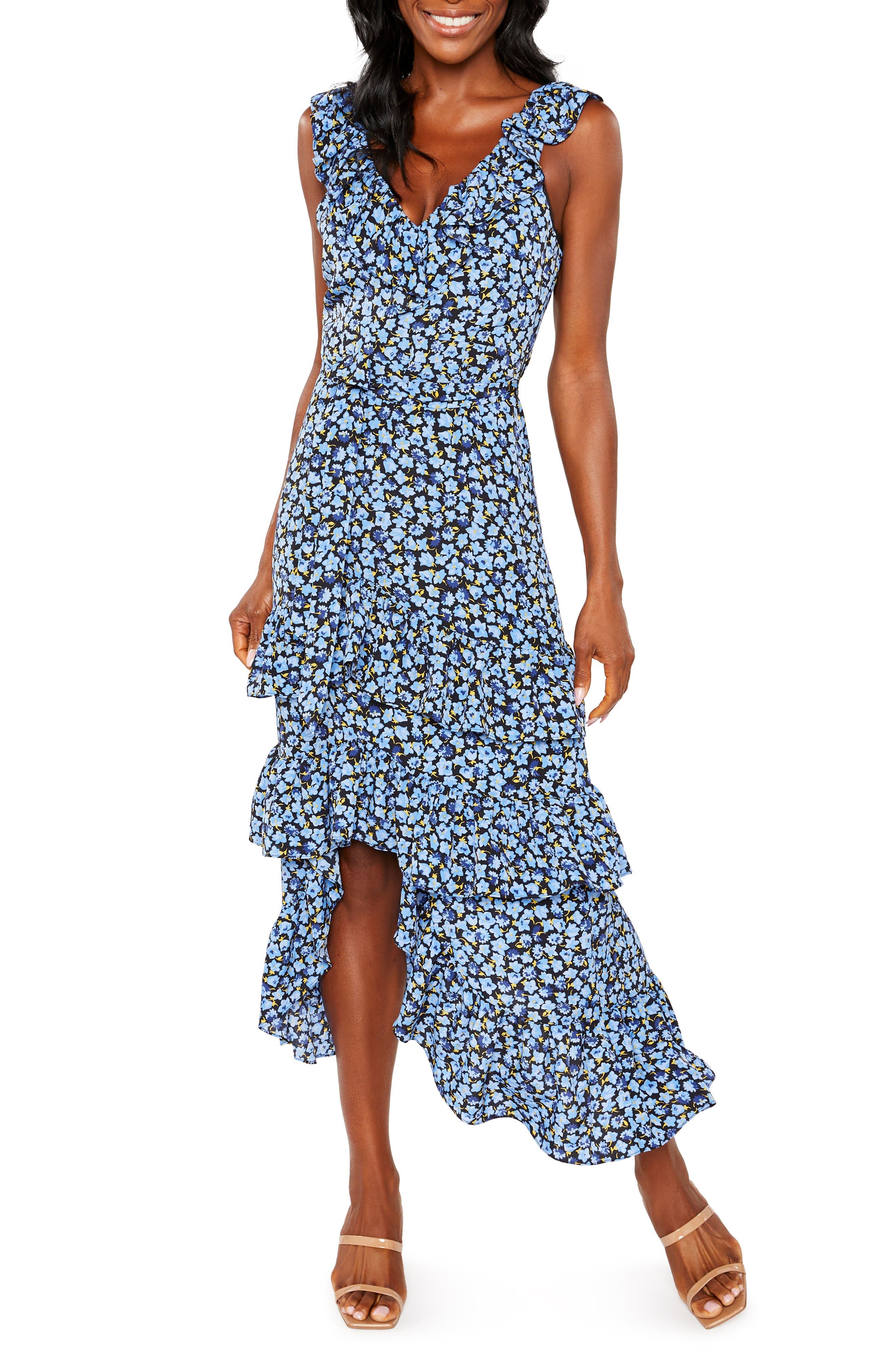 Morrell Floral Sleeveless Dress