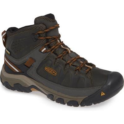 Keen Targhee Iii Mid Waterproof Hiking Boot, Green
