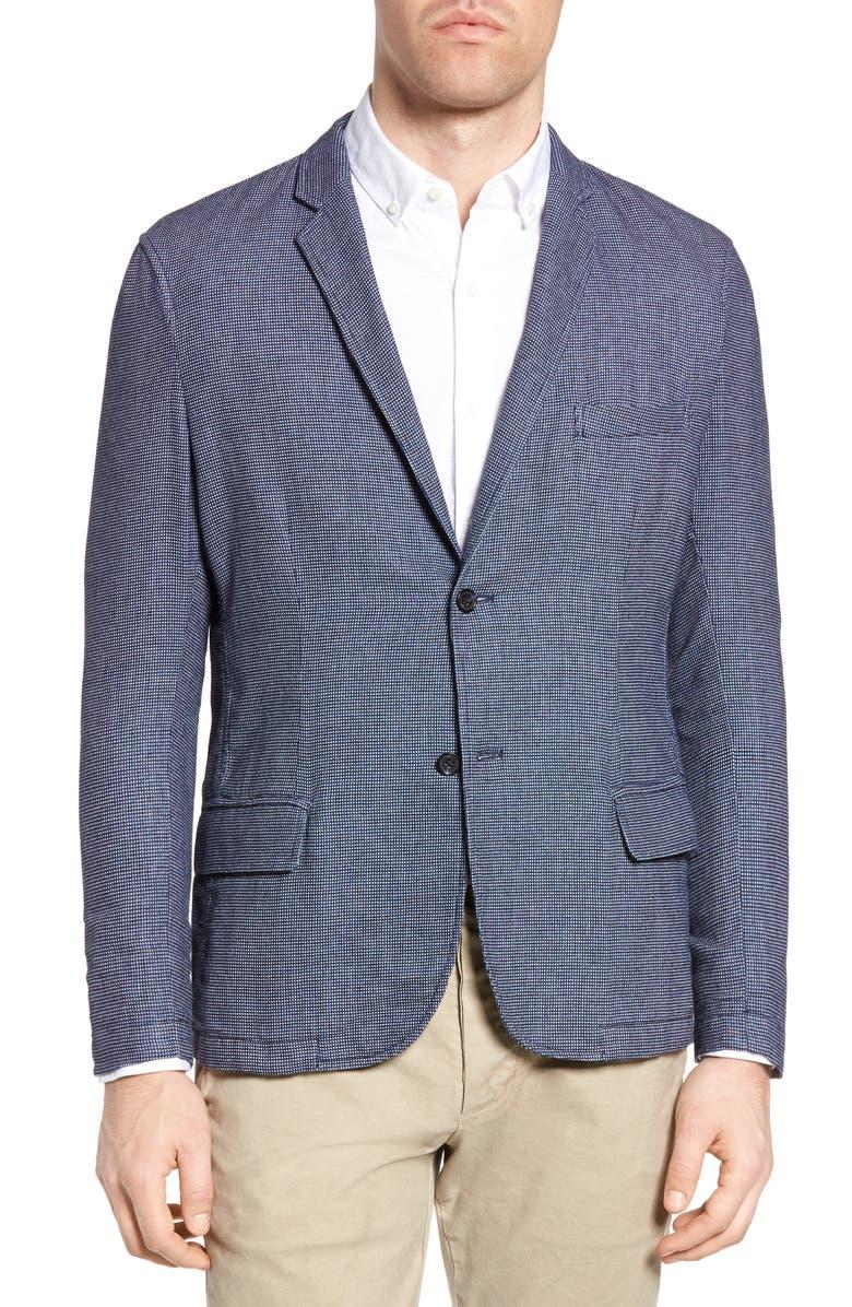 MICHAEL BASTIAN Deconstructed Blazer, Main, color, 422
