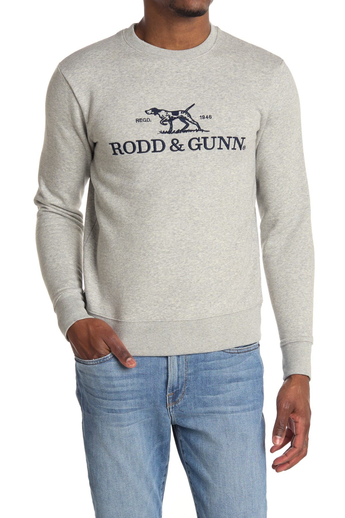 RODD AND GUNN Embroidered Logo Sweatshirt at Nordstrom Rack