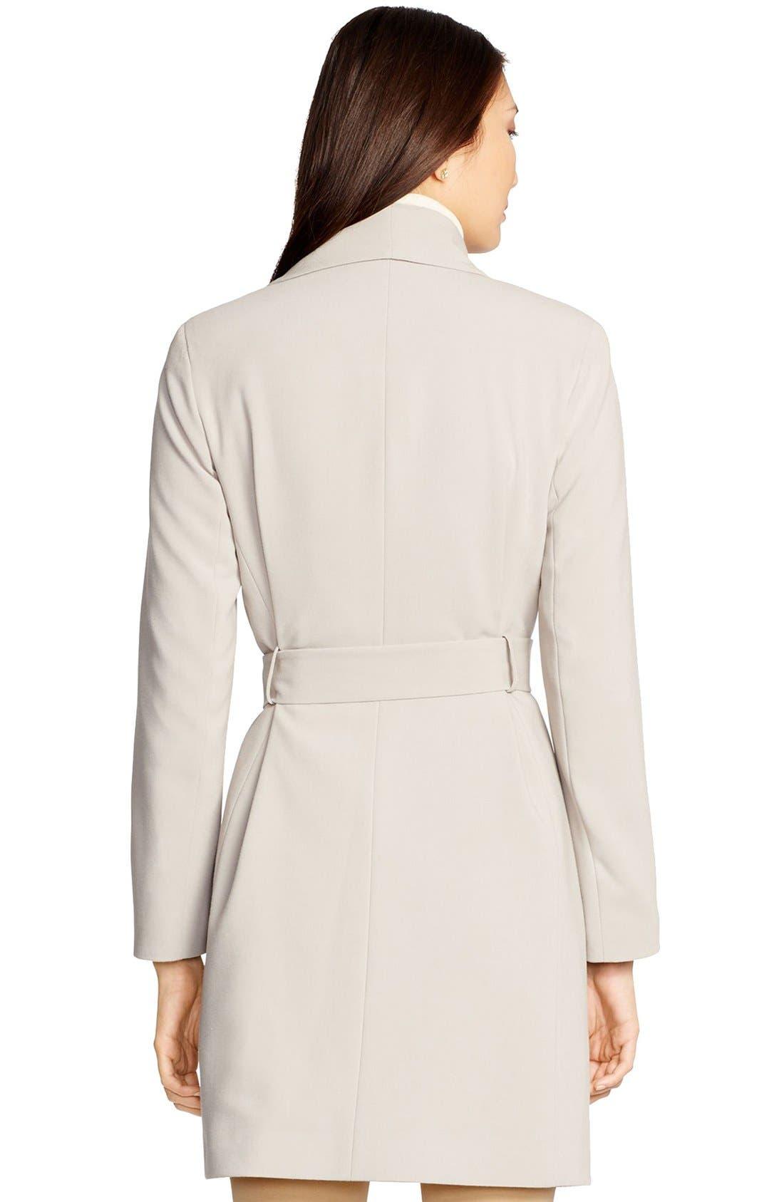 ,                             Belted Drape Front Coat,                             Alternate thumbnail 50, color,                             020