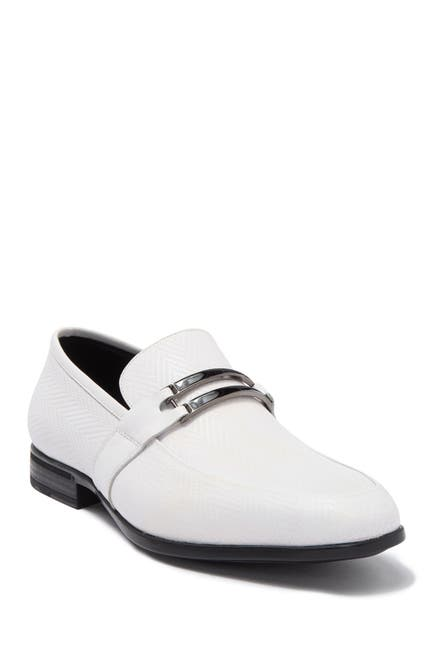 Image of Karl Lagerfeld Paris Herringbone Bit Slip-On Loafer