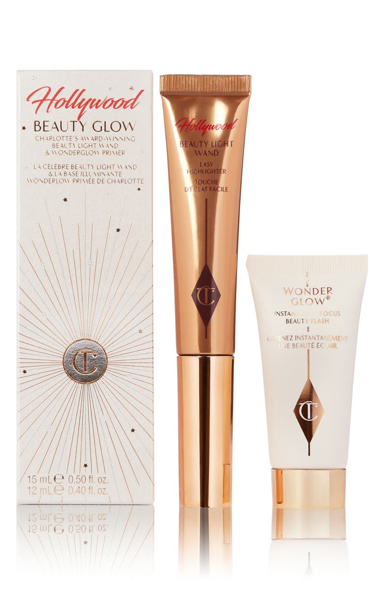 CHARLOTTE TILBURY Hollywood Beauty Glow Set, Main, color, NO COLOR