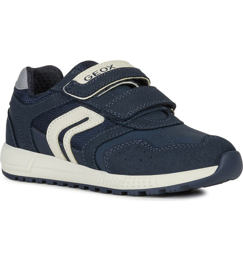 GEOX Alben 7 Sneaker, Main, color, NAVY/ GREY