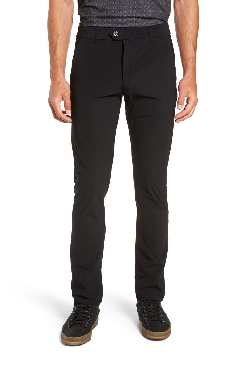 GREYSON Montauk Stretch Dress Pants, Main, color, 001