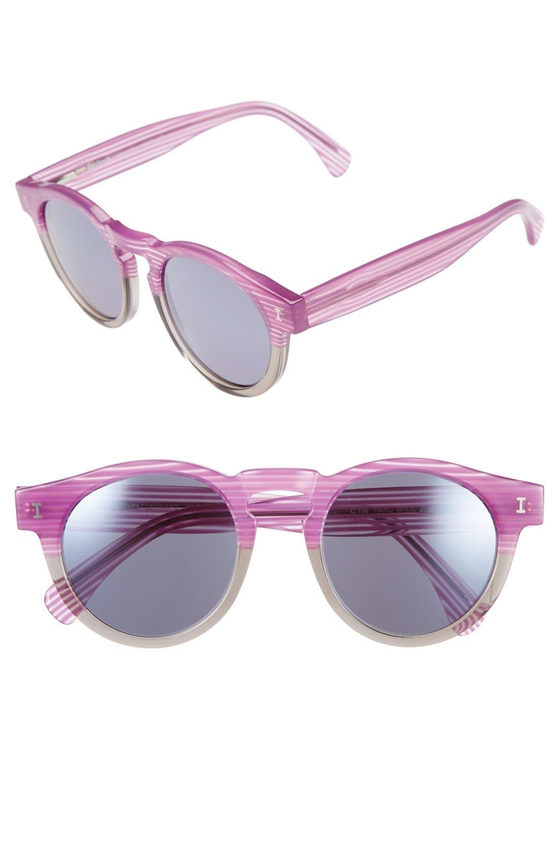 ,                             'Leonard' 47mm Sunglasses,                             Main thumbnail 129, color,                             500