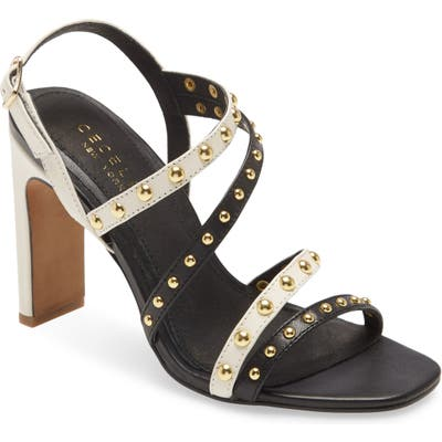 Cecelia New York Vanessa Studded Sandal, Black