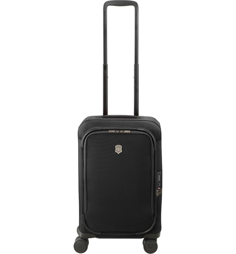 VICTORINOX SWISS ARMY<SUP>®</SUP> Connex Frequent Flyer 22-Inch Spinner Carry-On, Main, color, 001