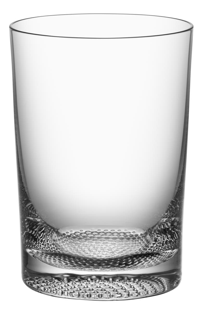 ORREFORS Limelight Set of 2 Lead Crystal Tumblers, Main, color, CLEAR
