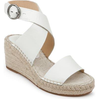 Splendid Addie Wedge Espadrille Sandal, White