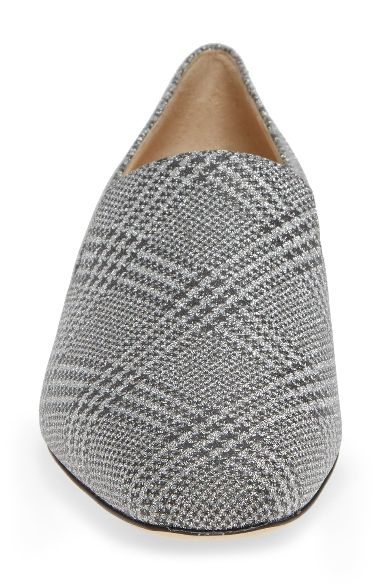 ,                             Jaida Loafer,                             Alternate thumbnail 4, color,                             SILVER