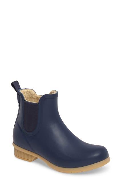 Image of Chooka Bainbridge Fleece Lined Chelsea Rain Boot