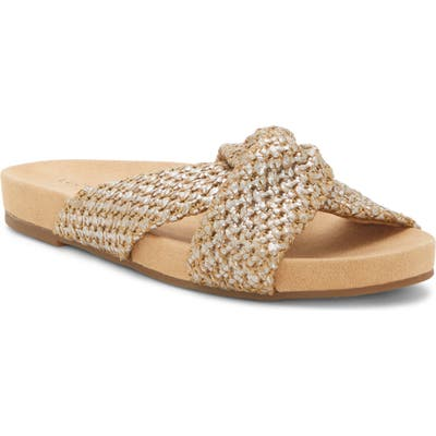 Lucky Brand Fynna Slide Sandal- Brown