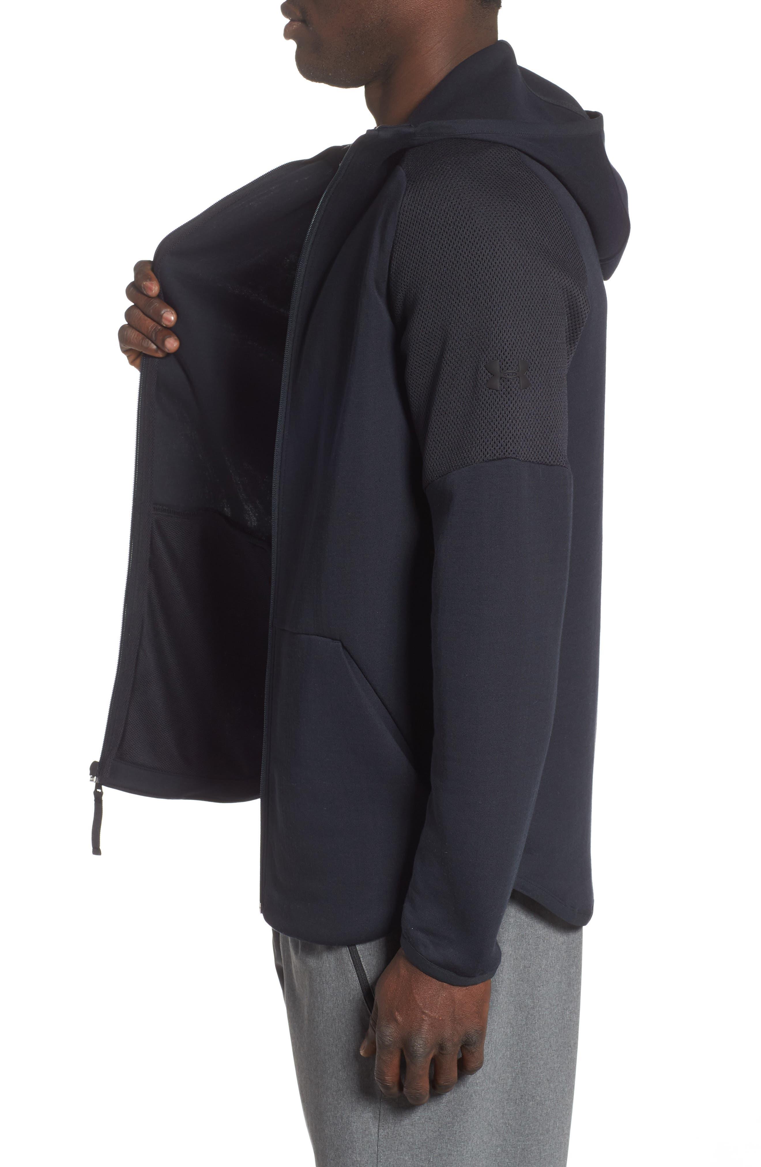 ,                             Unstoppable Move Light Full-Zip Hooded Sweatshirt,                             Alternate thumbnail 8, color,                             003