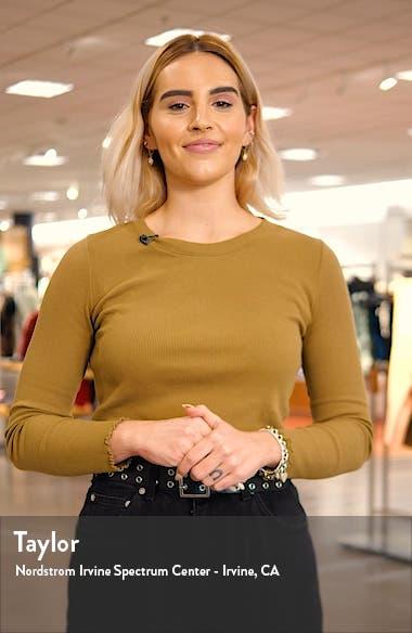 Dynamic Silk Twill Shirtdress, sales video thumbnail