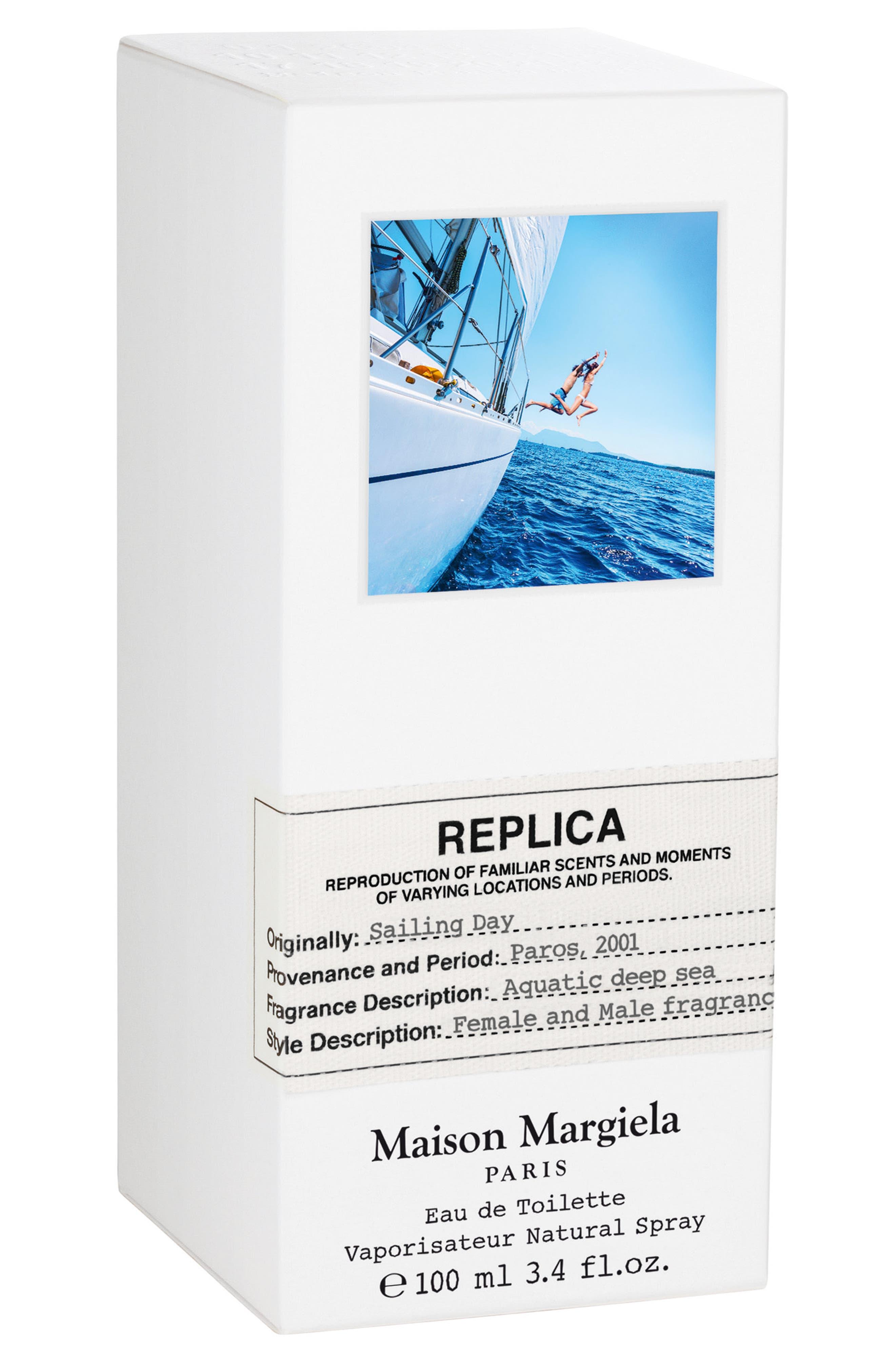 ,                             Replica Sailing Day Eau de Toilette Spray,                             Alternate thumbnail 2, color,                             NO COLOR