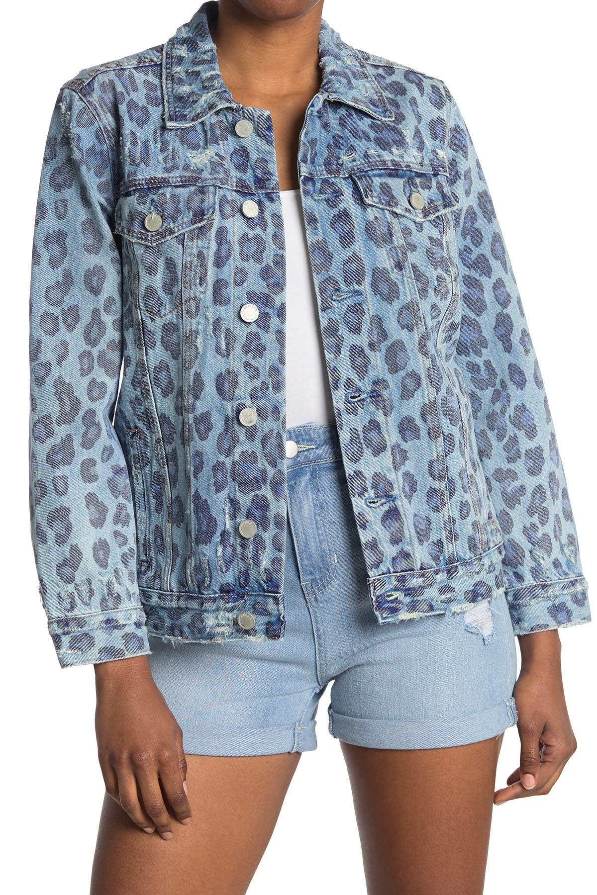 Image of BLANKNYC Denim Welcome To The Jungle Denim Jacket