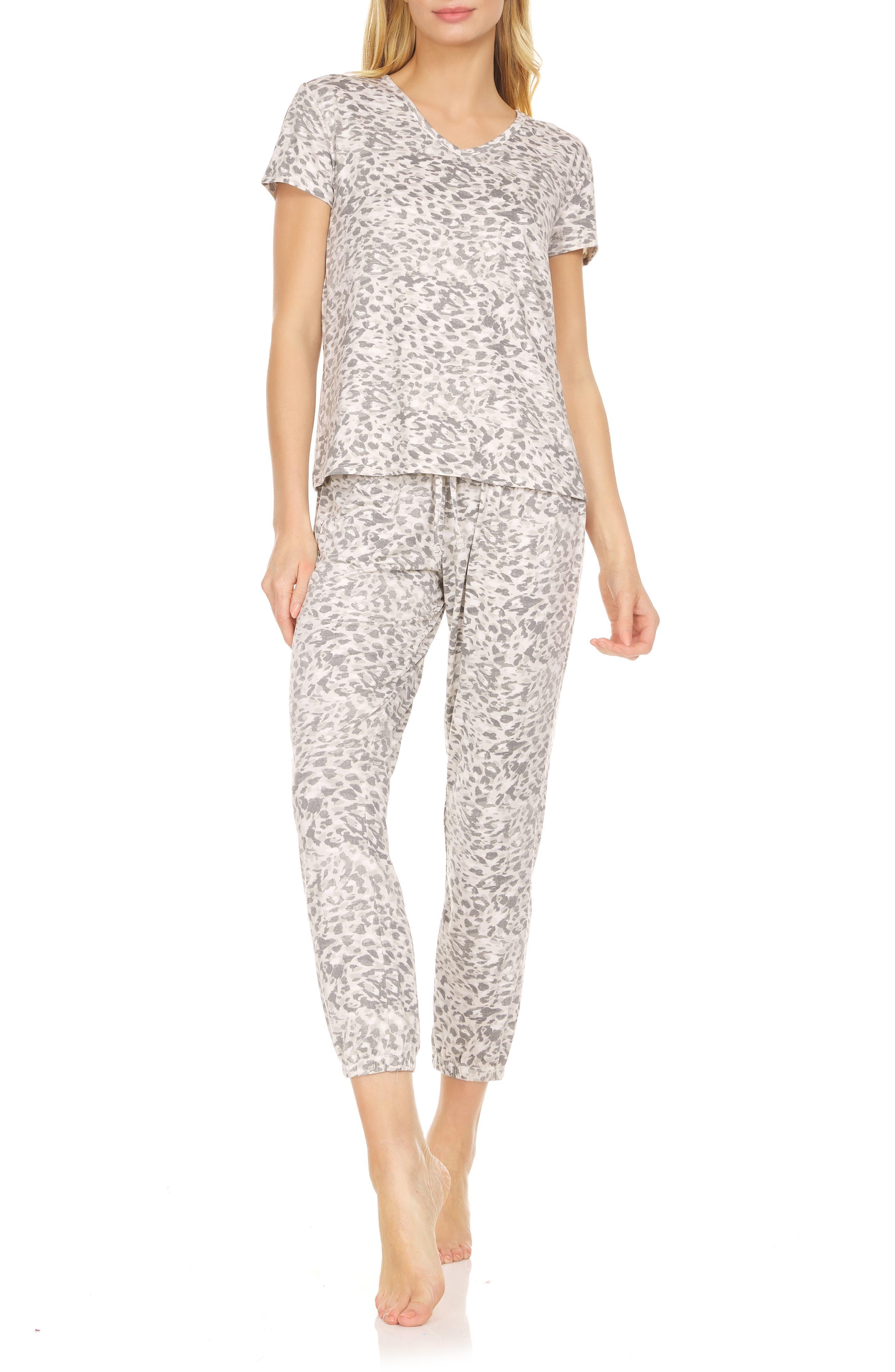 Elsa Print Jersey Pajamas
