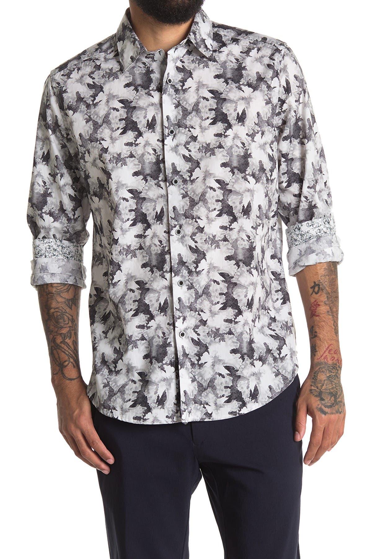 Image of Robert Graham Fort Summer Long Sleeve Woven Shirt