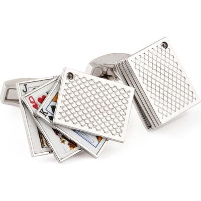 Tateossian Playing Cards Cuff Links