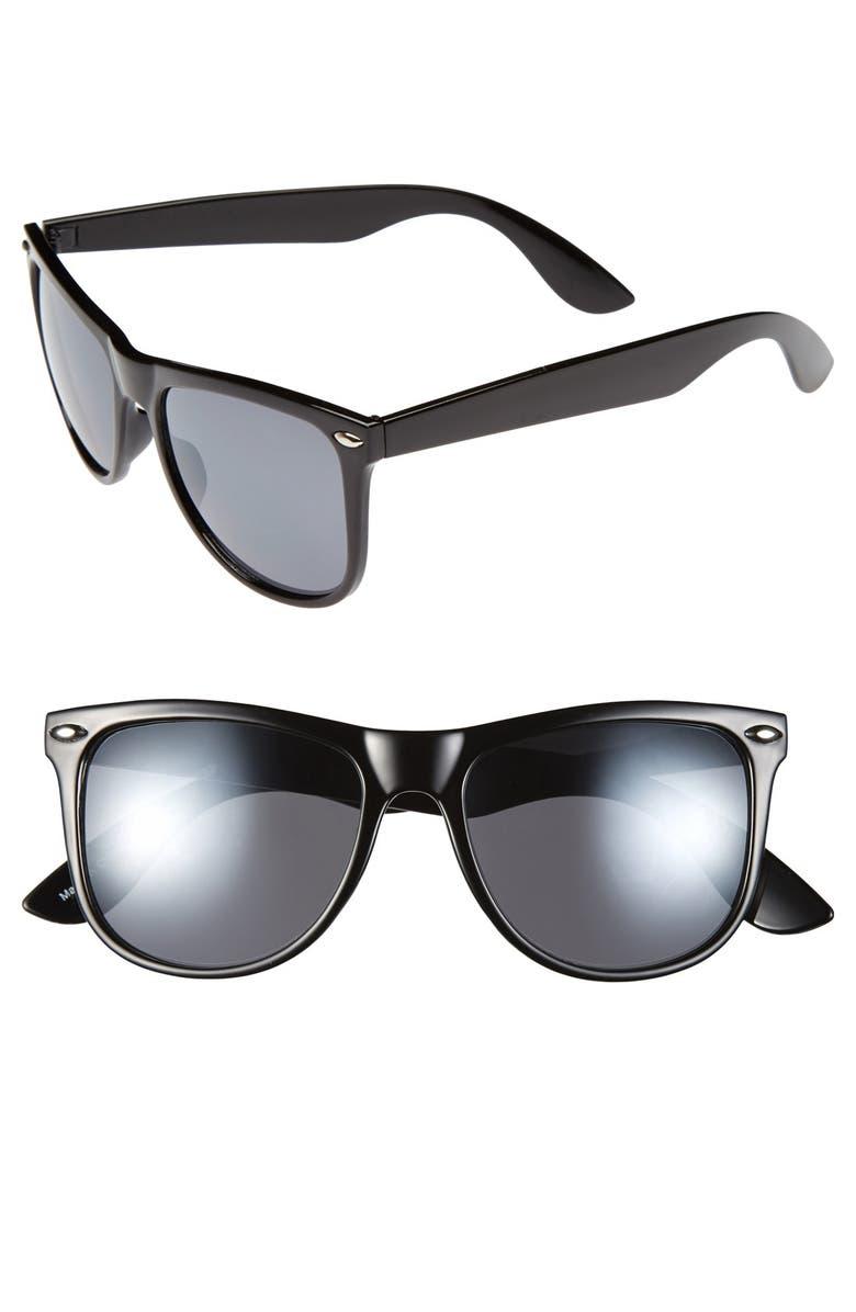 FANTASEYES Fantas Eyes 'Gelato' 53mm Retro Sunglasses, Main, color, 002