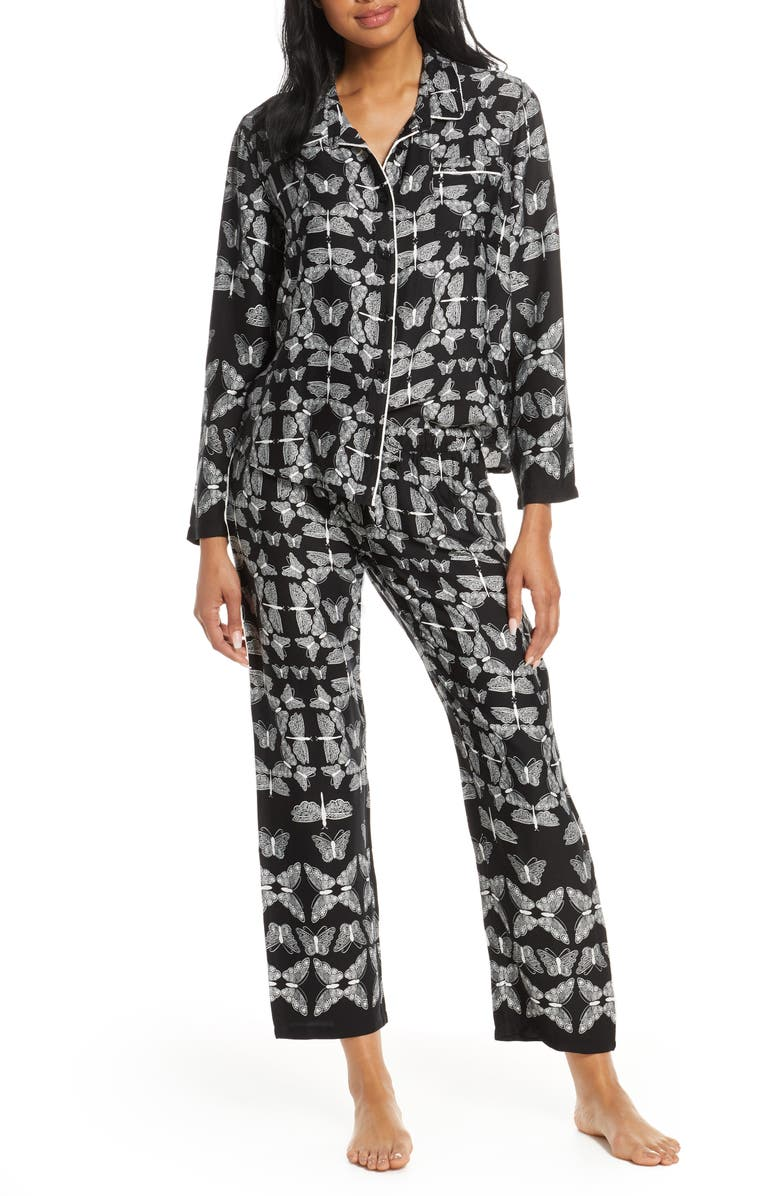 PJ SALVAGE Print Pajamas, Main, color, 001