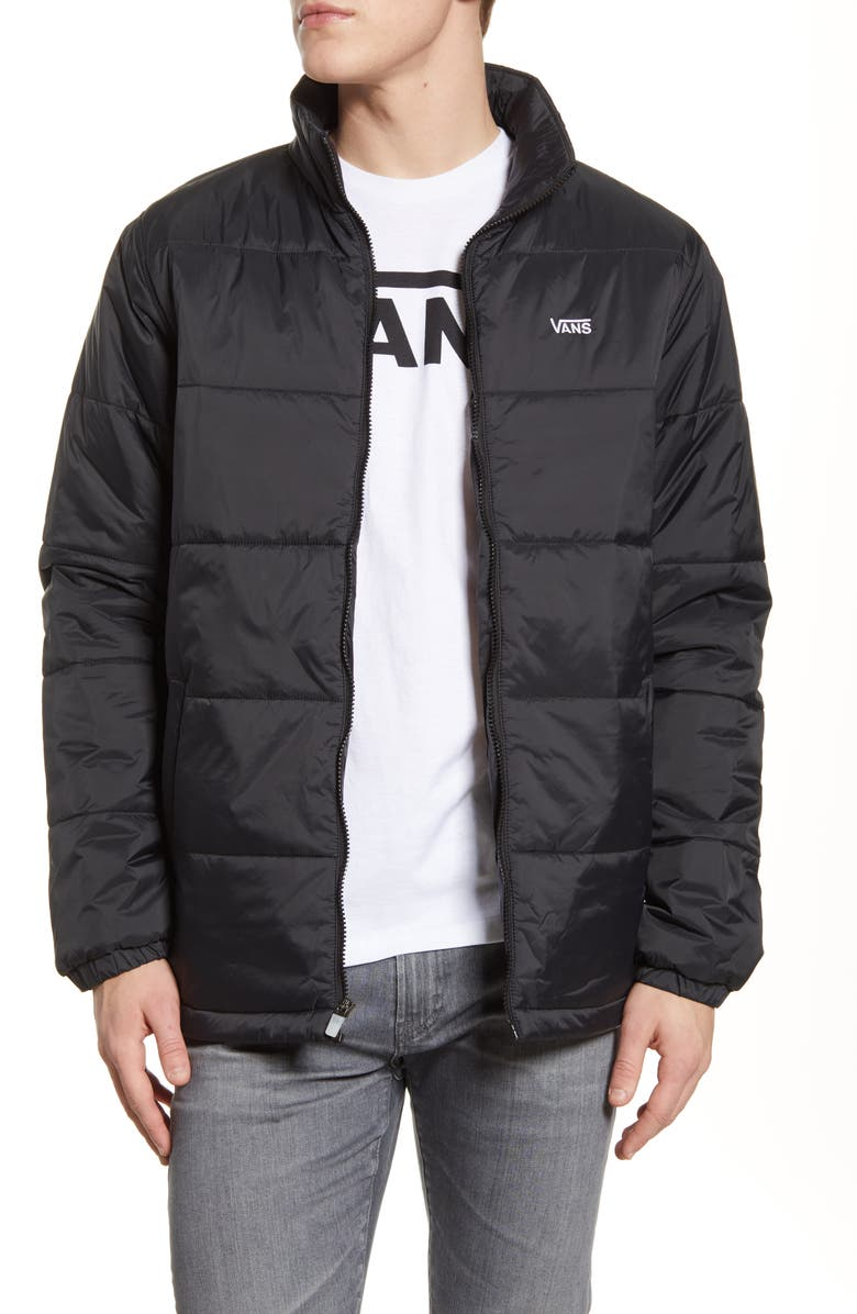 VANS Layton Quilted Jacket, Main, color, 001